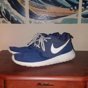 Nike roshe run - navy blue